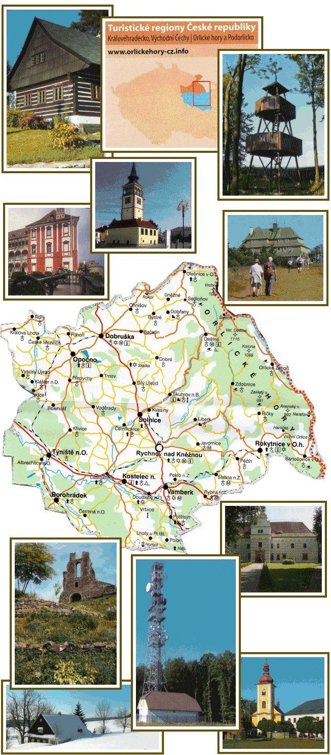 Mikroregion Rychnovsko - Koláž