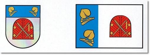 Obec Libel - Znak a vlajka
